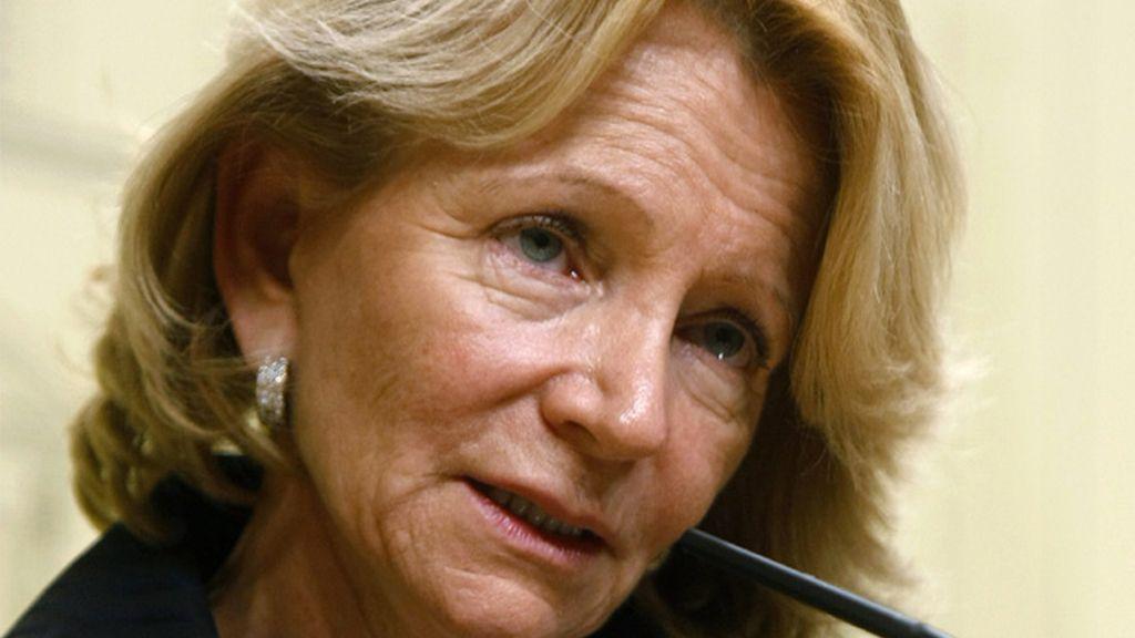 Elena Salgado, vicepresidenta económica del Gobierno