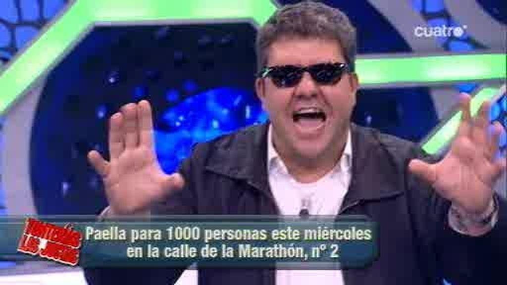 Florentino Fernández invita a comer paella