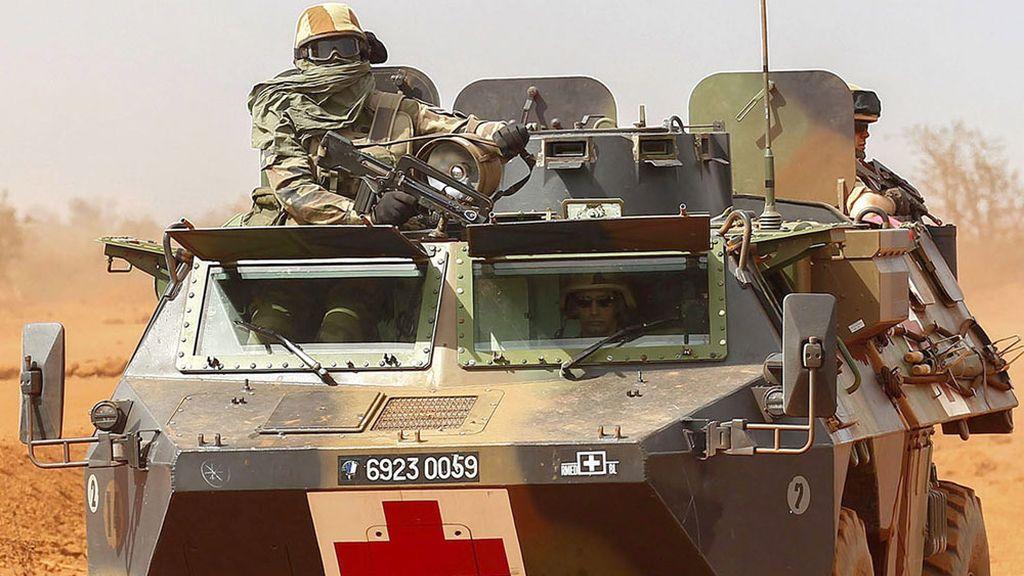 Soldado francés en Malí