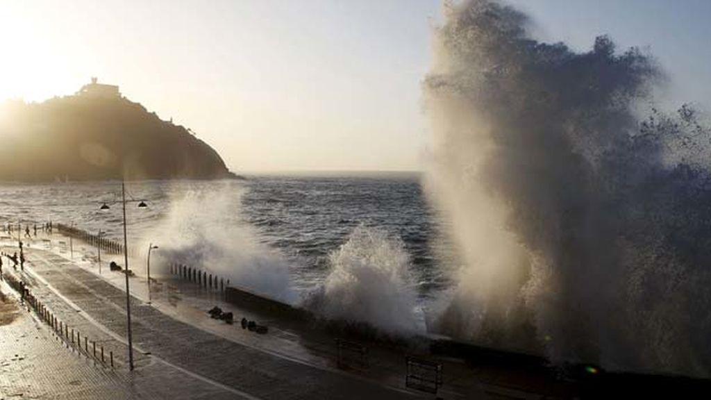 Alerta por fuertes vientos en España