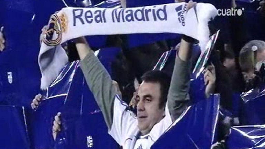 Javier Rico, el hincha del Madrid