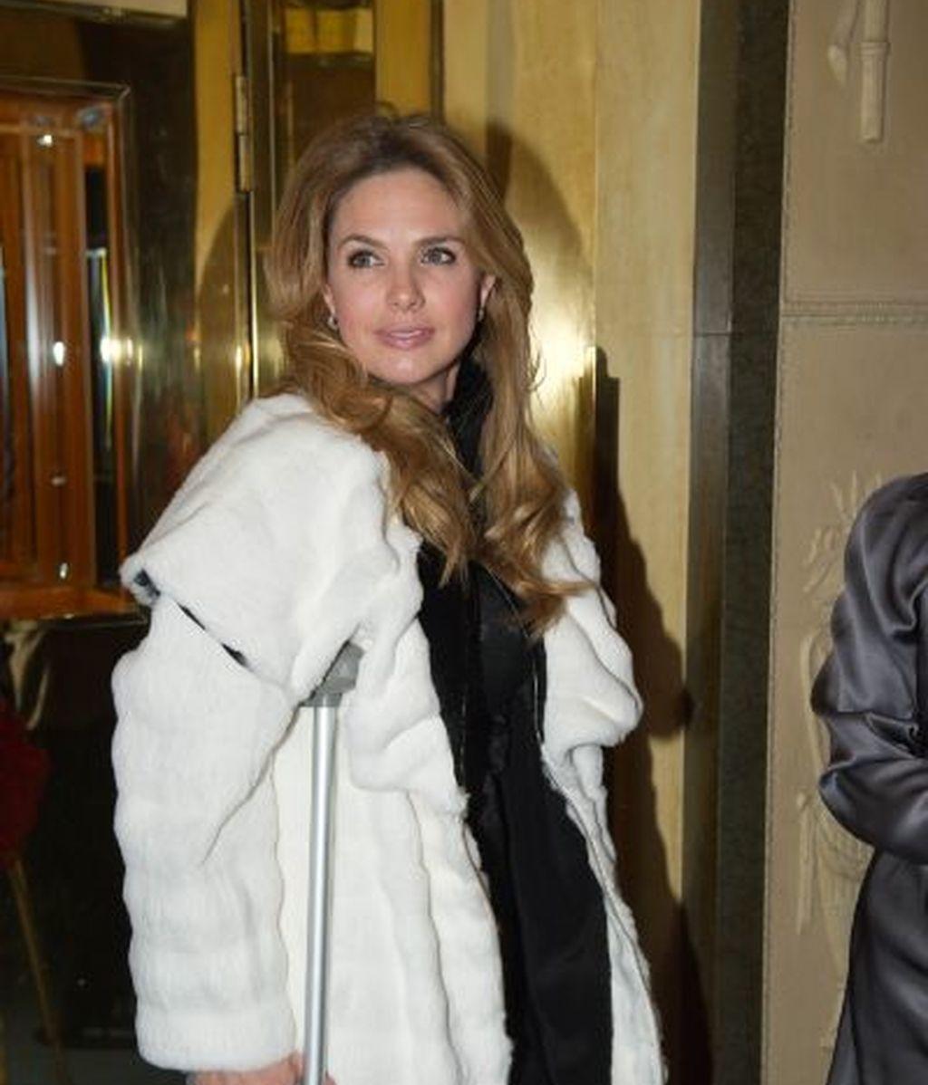 Genoveva Casanova, actual novia de Gonzalo Vargas Llosa
