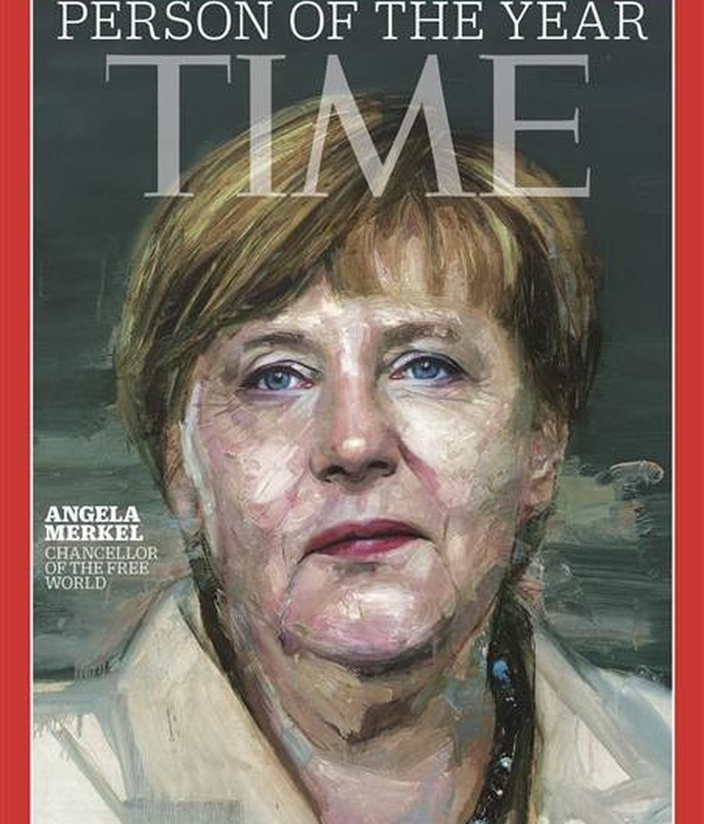 Angela Merkel, 'Persona del año' para la revista 'Time'