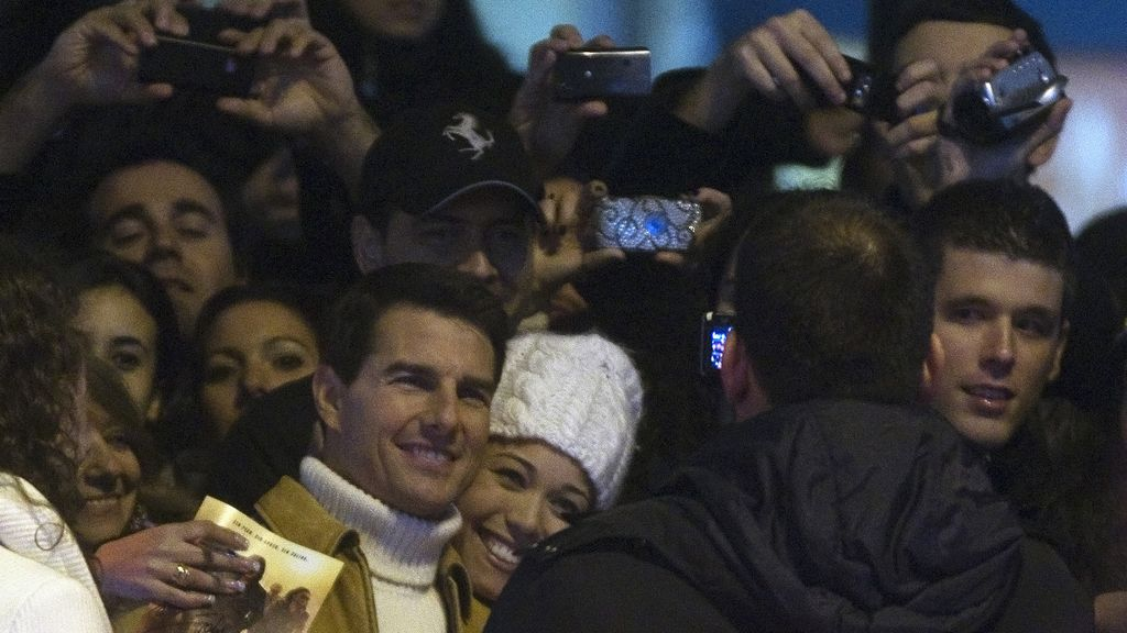 "Tom Cruise presenta en Madrid ""Misión Imposible: Protocolo fantasma """
