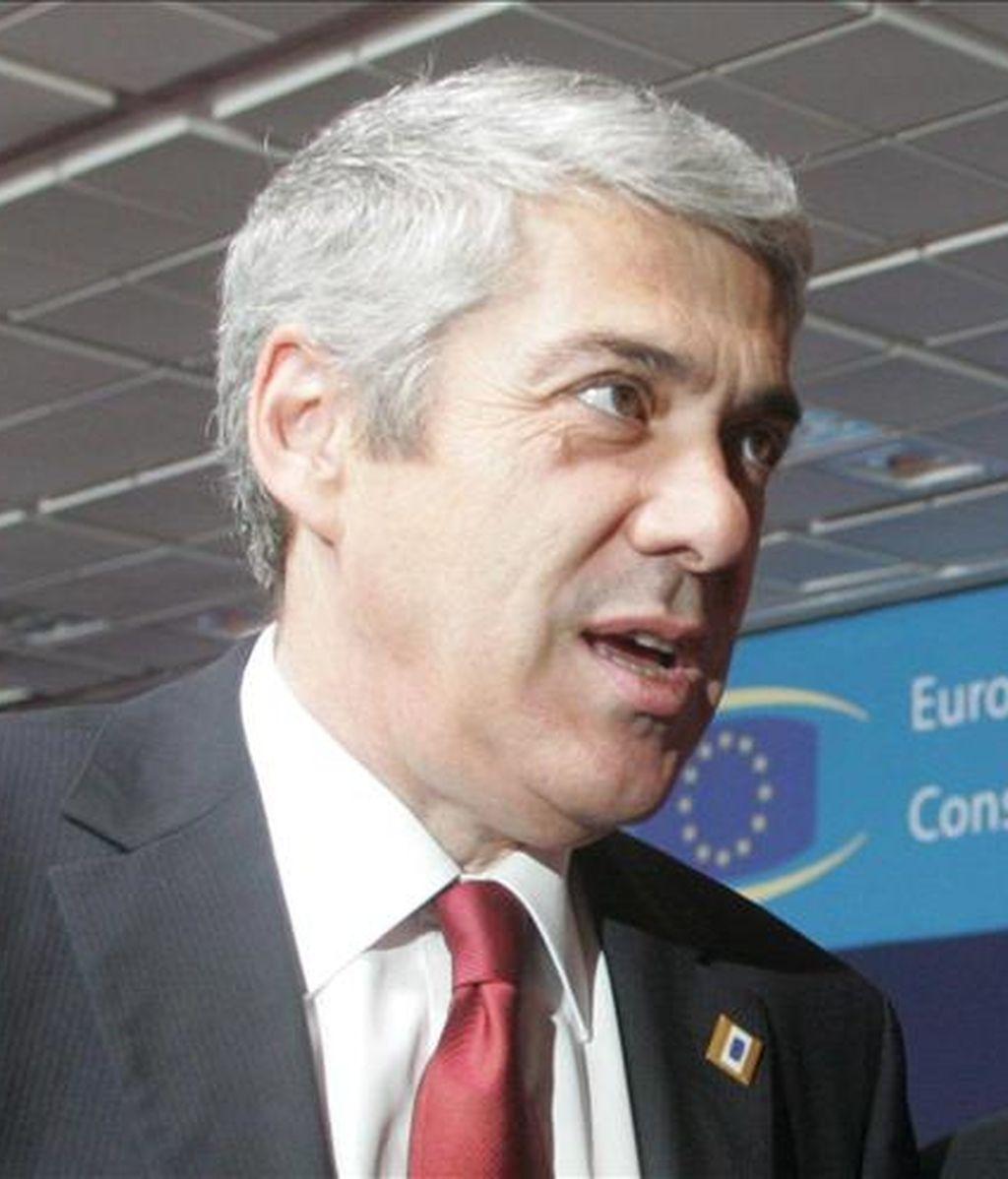 El primer ministro portugués, Jose Socrates. EFE/Archivo