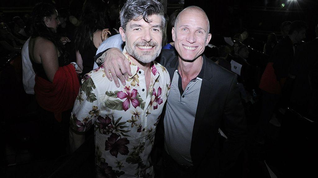 Nacho Guerreros y Peter Priede