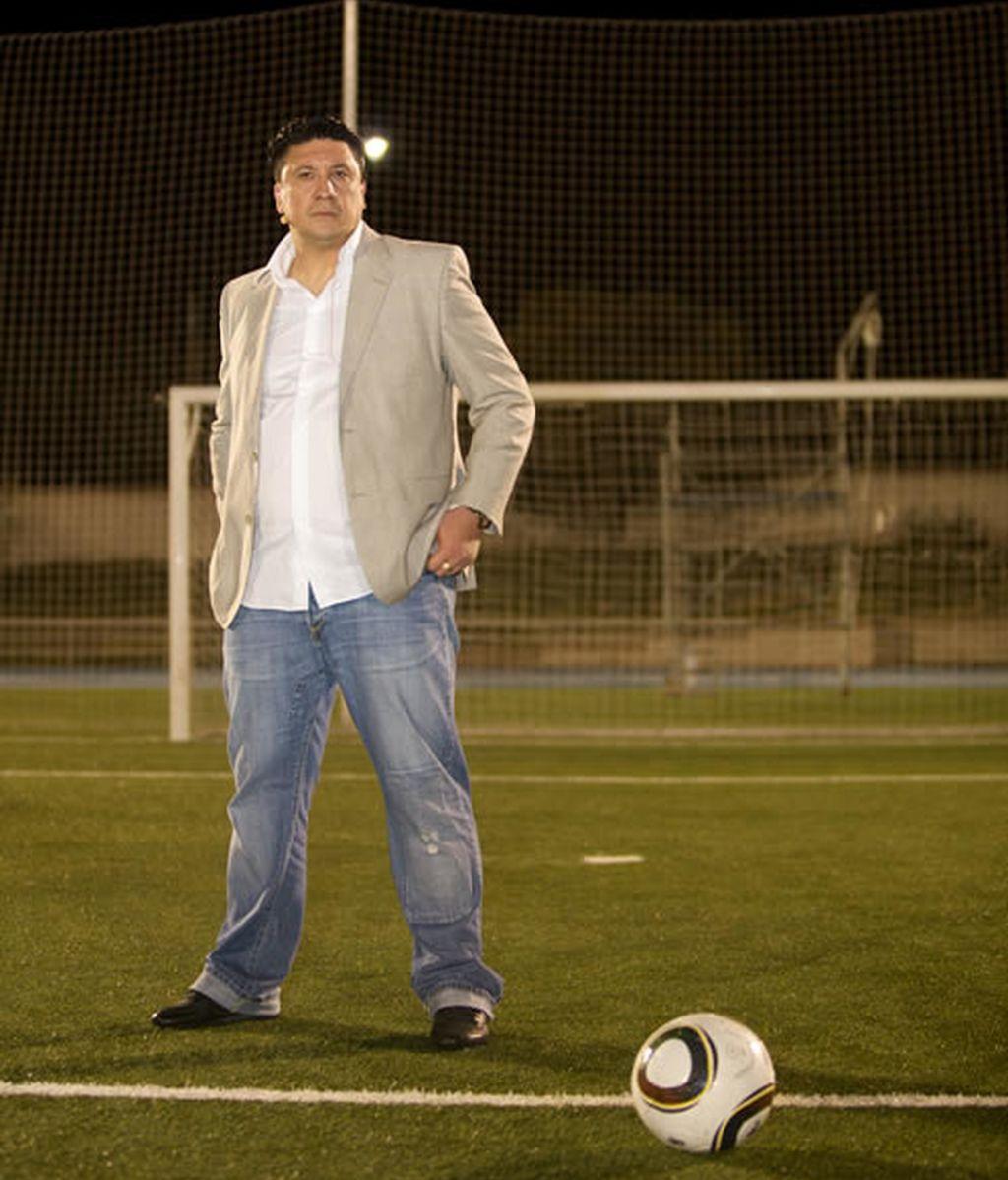 El 'Mono' Burgos, entrenador de Cracks