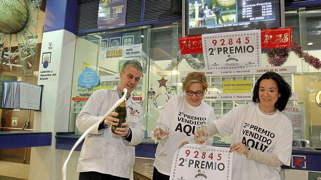 Celebran el segundo premio en Zaragoza