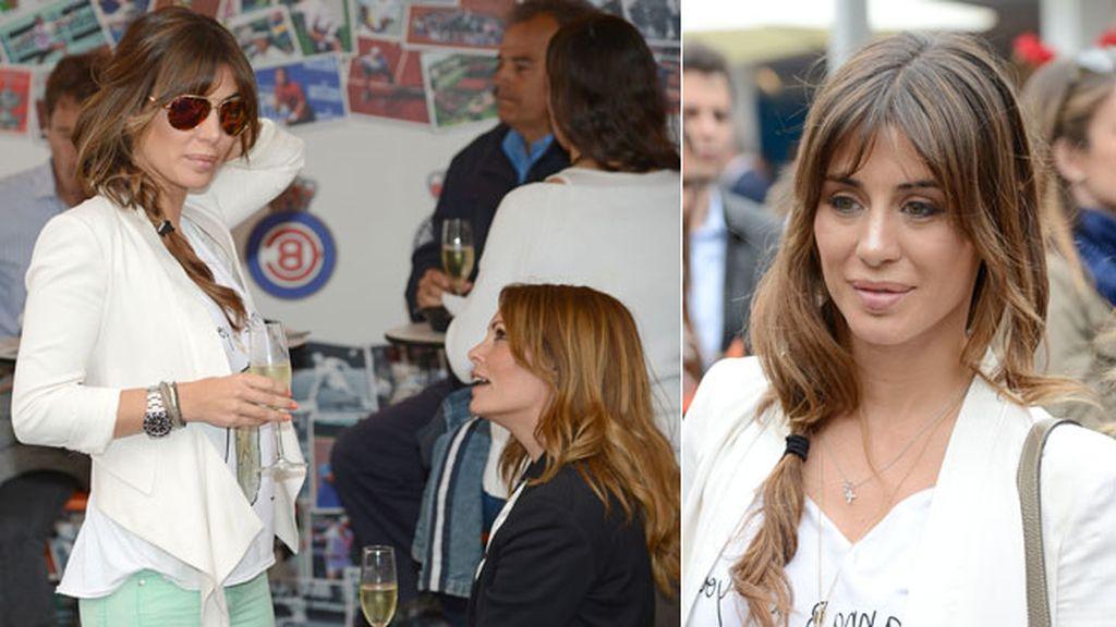 Elena Tablada disfrutó de la jornada con su amiga Raquel Rodríguez