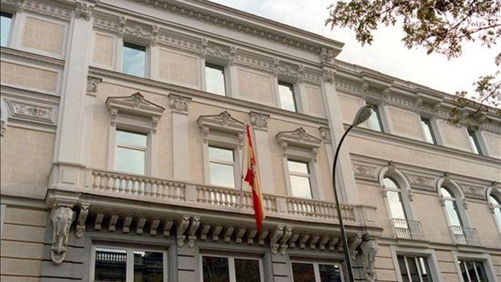 Imagen de la fachada del Consejo General del Poder Judicial (CGPJ). EFE/Archivo