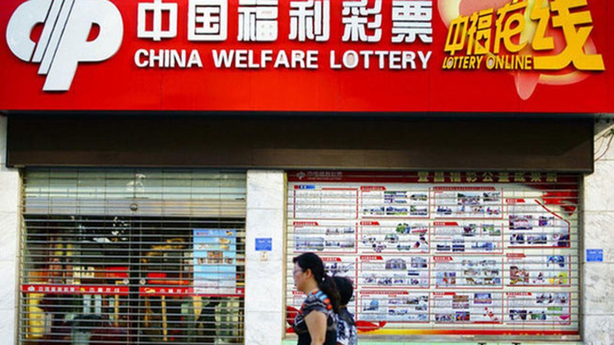 lotería China,premio lotería