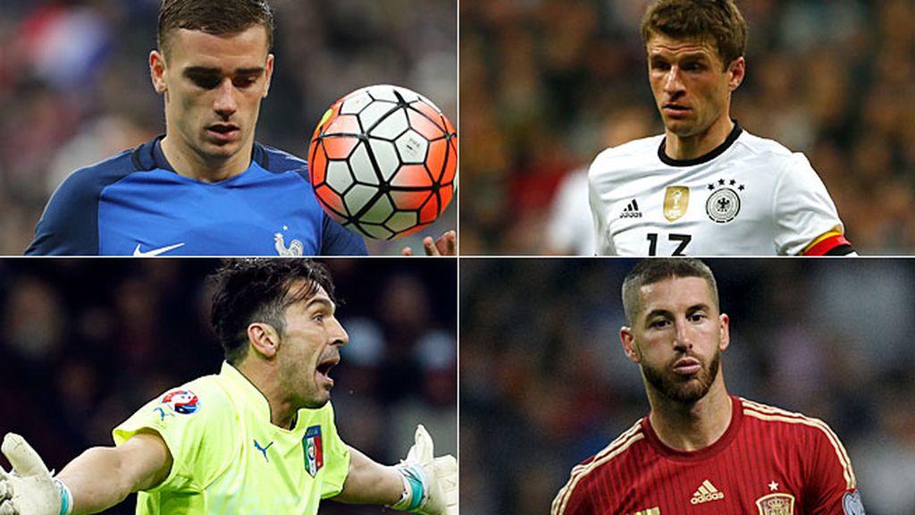 Favoritas Euro 2016