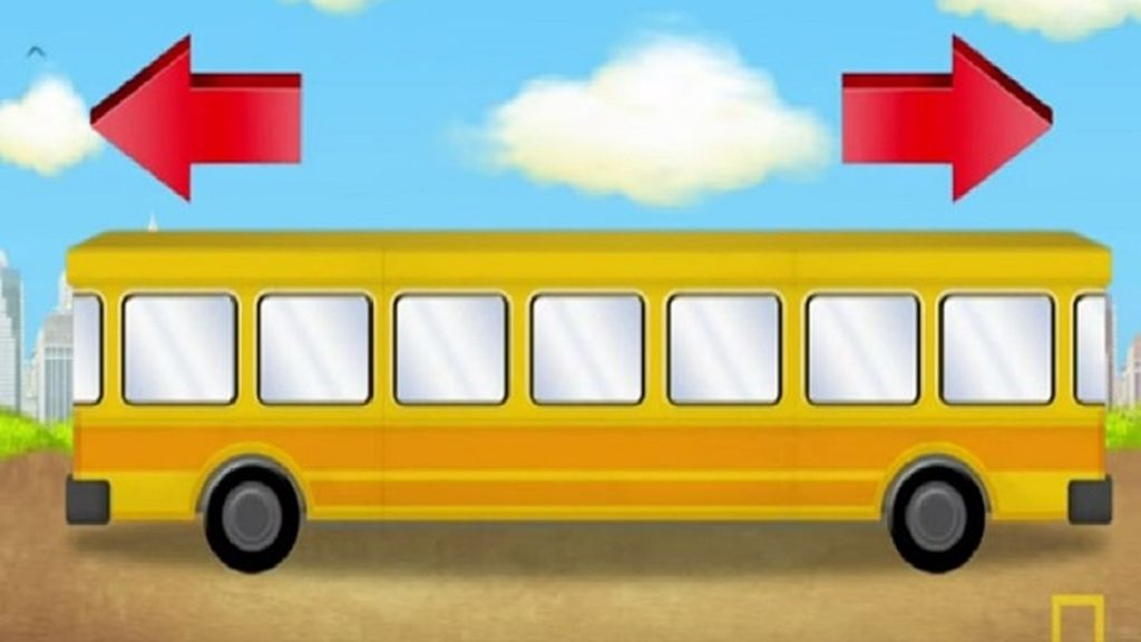 ¿Hacia dónde se dirige el autobús?