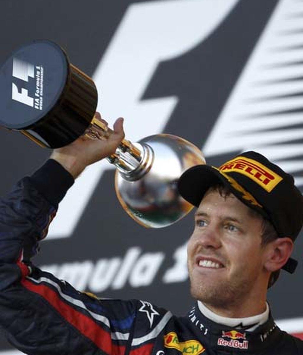 Vettel, el bicampeón más joven