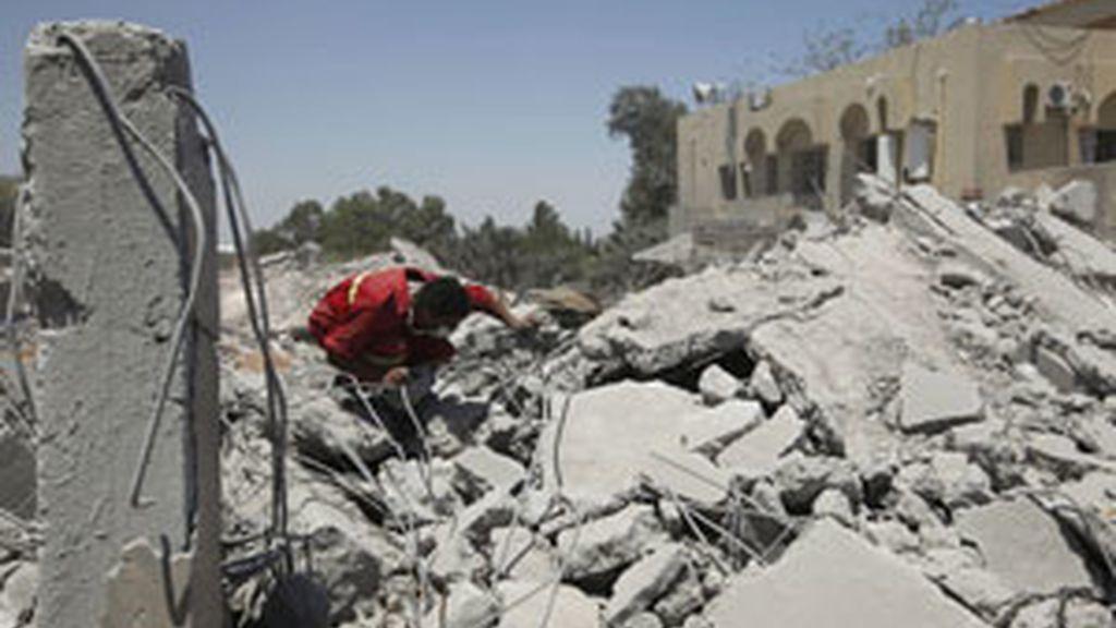 Diez rebeldes han muerta y 34 han resultado heridas FOTO: REUTERS/archivo