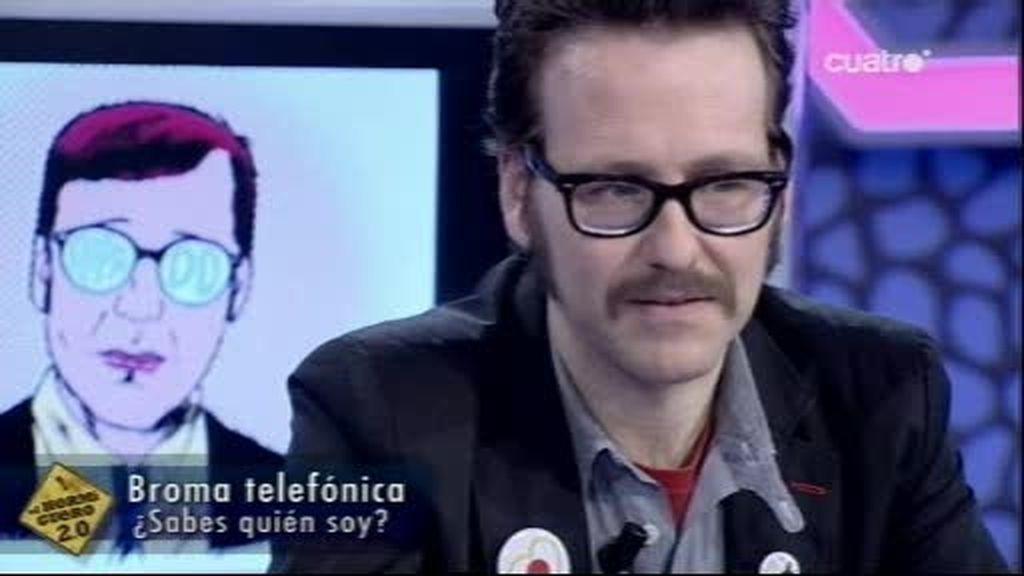 Vacilan por teléfono a Joaquín Reyes