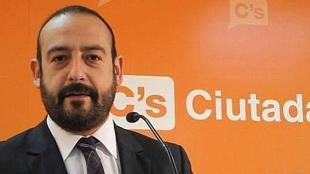 Jordi Cañas, diputado de Ciutadans en el Parlament