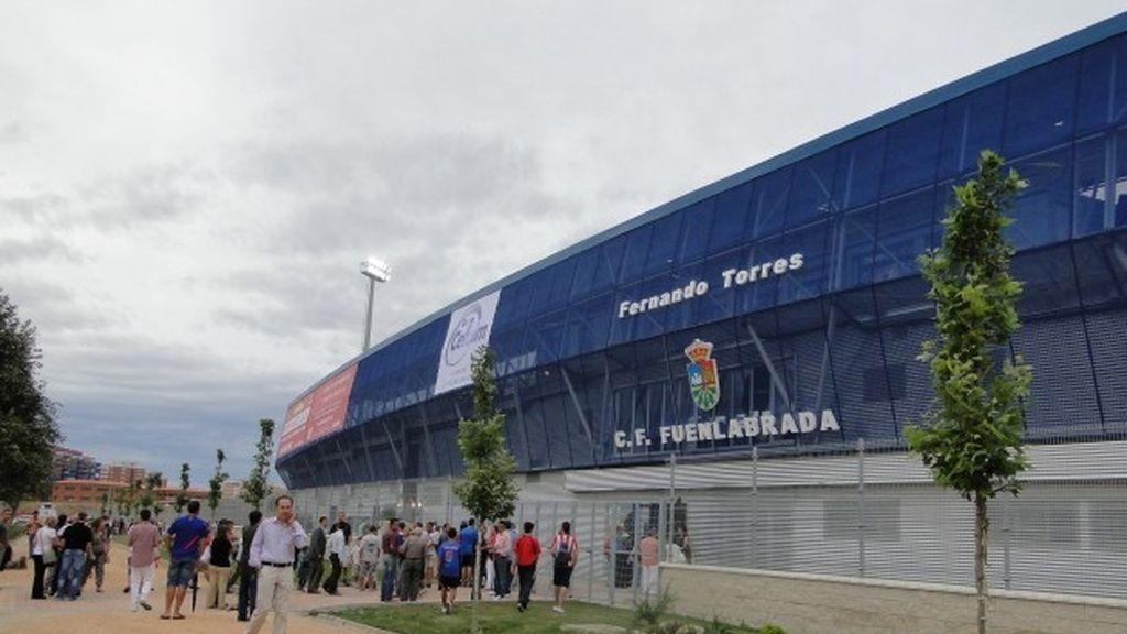 Fuenlabrada, ciudad vecina con casi 200.000 habitantes y equipo en Segunda B