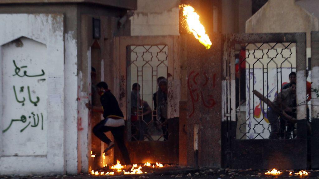 Enfrentamientos entre policía y Hermanos Musulmanes