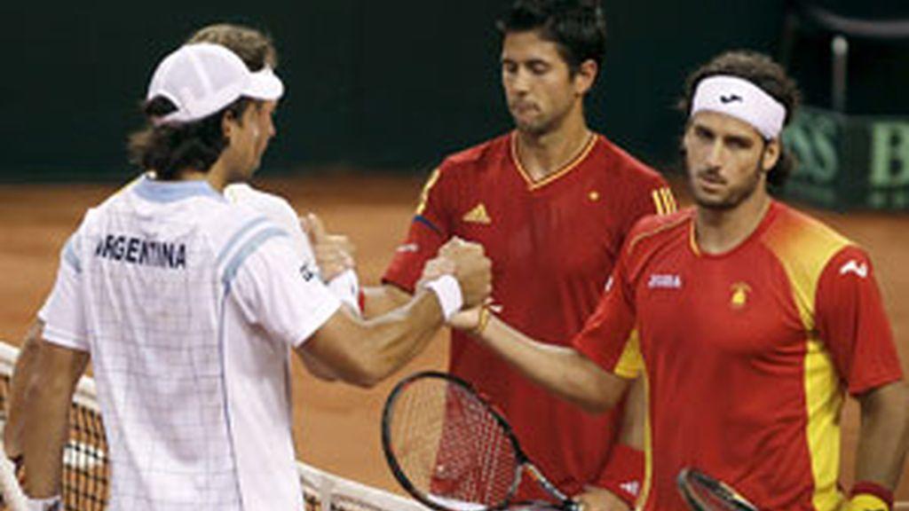 Contundente derrota española FOTO: EFE