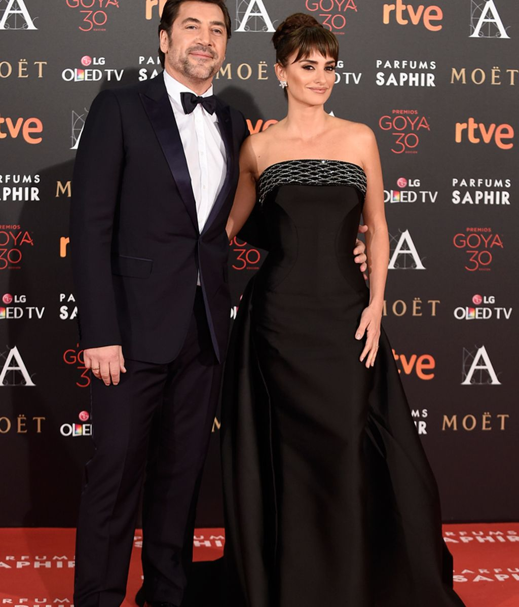 Penélope Cruz con Javier Bardem