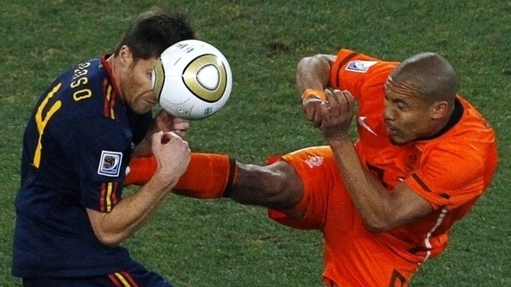 Xabi Alonso deja la selección tras 114 partidos, 2 Eurocopas y un Mundial