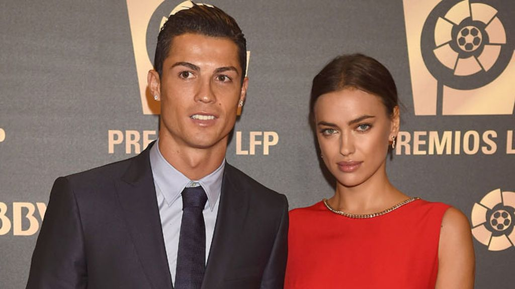 """""""Deseo a Irina la mayor felicidad"""", decía Cristiano Ronaldo"""