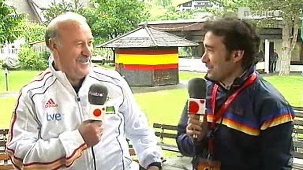 Vicente del Bosque, en Cuatro: 'El debate es bueno en el fútbol'