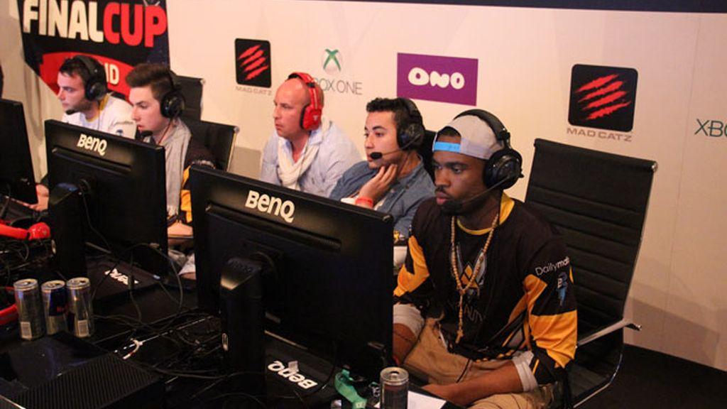 Los jugadores del equipo francés de Call of Duty Team Vitality