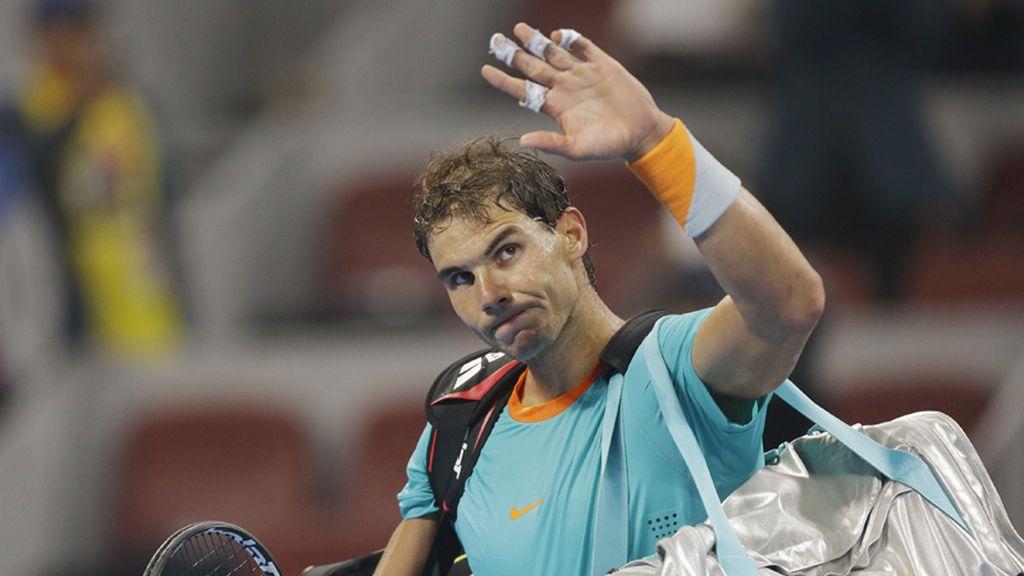 Rafael Nadal cae eliminado en cuartos del torneo de Pekín