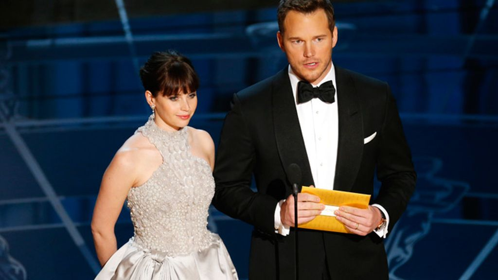 Felicity Jones y Chris Pratt