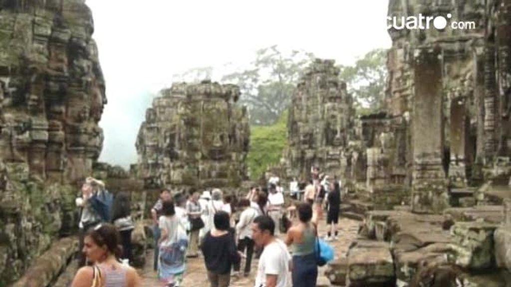 El paseo de Raquel por Angkor