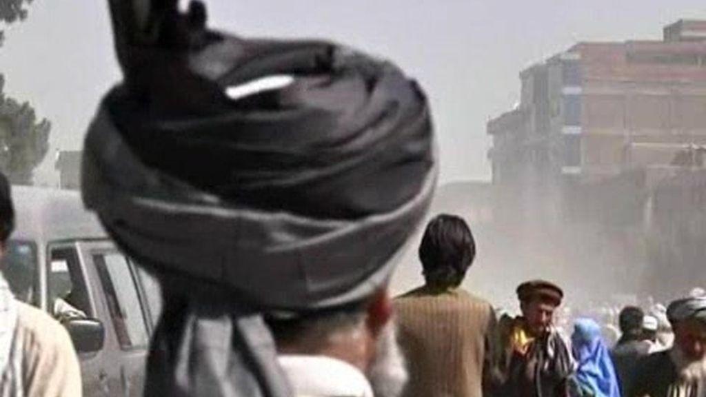 La primera conferencia en Afganistán
