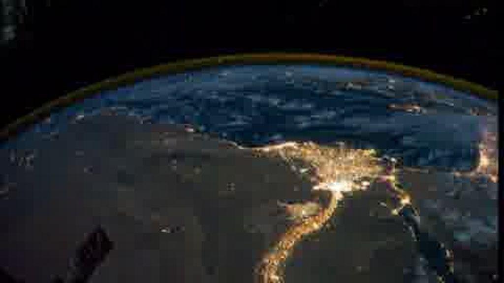 La luz de la Tierra
