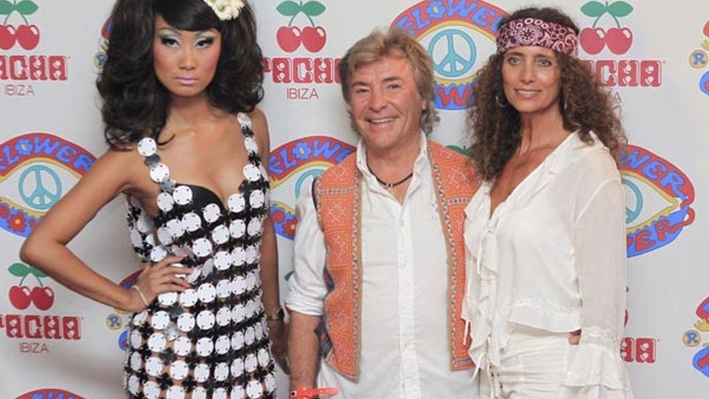 Ángel Nieto, un habitual de las fiestas de Ibiza y la discoteca Pachá