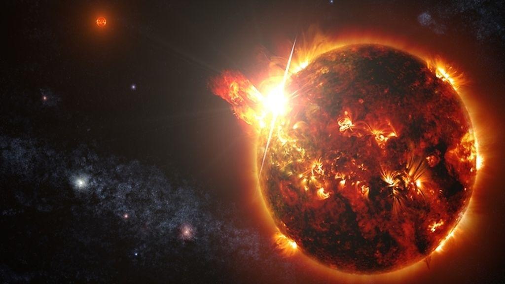 NASA,enana roja,llamaradas,telescopio espacial Swift