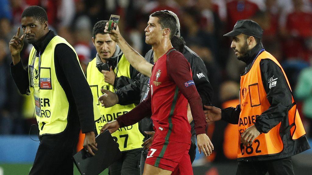 Precioso gesto del portugués poco después de fallar un penalti