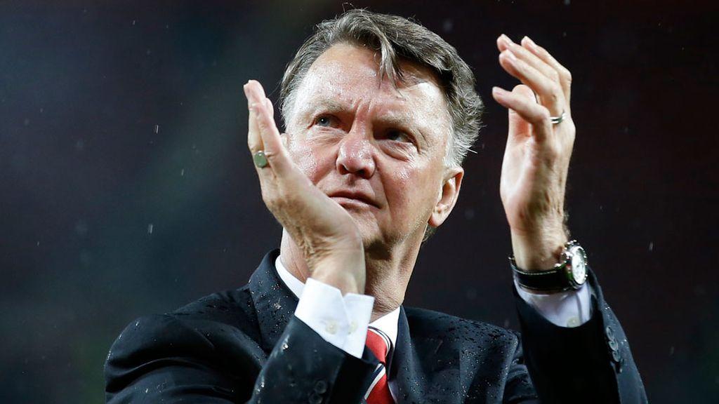 Van Gaal se despide del Manchester United (23/05/2016)