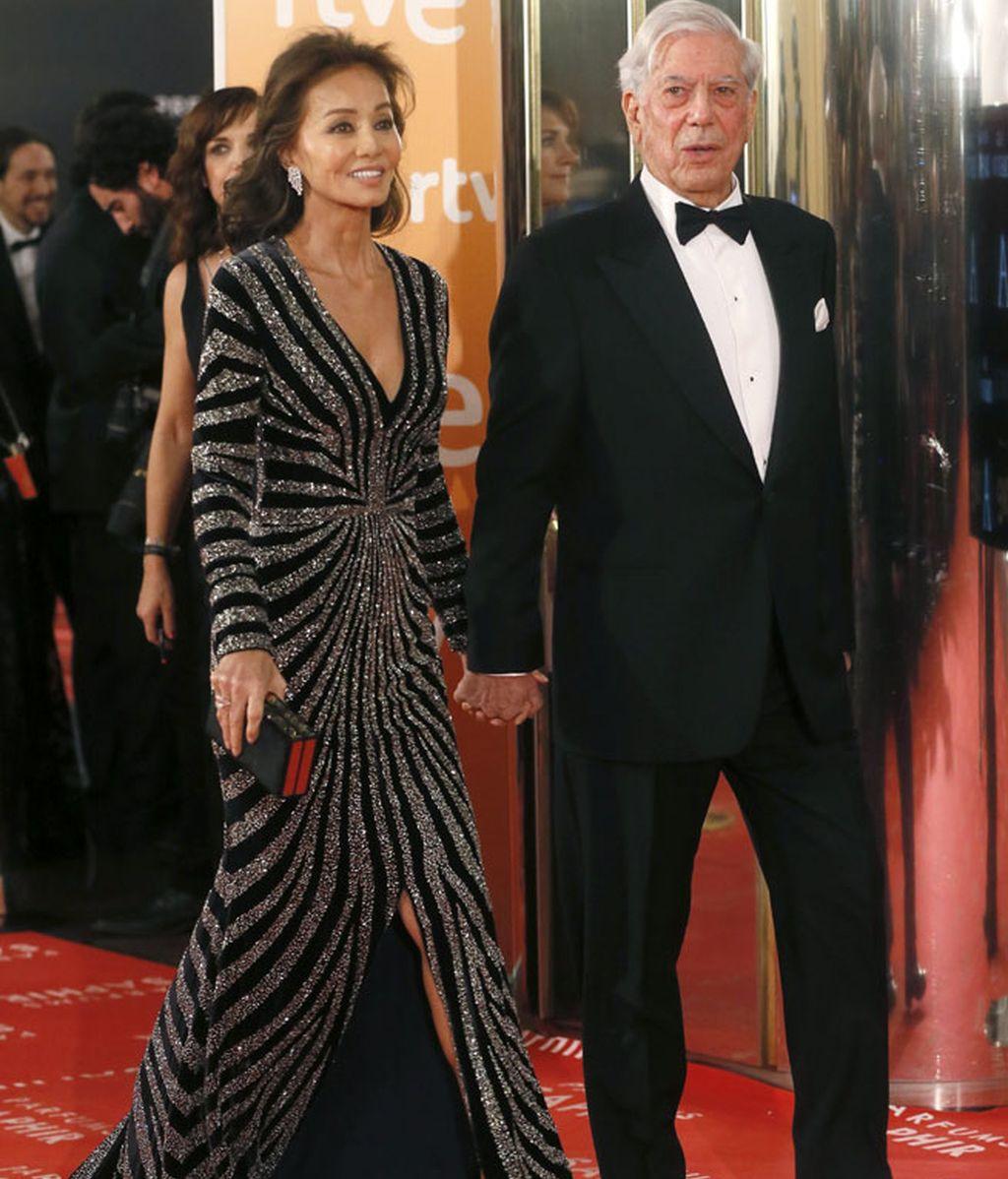 Mario Vargas llosa e Ssabel Preysler