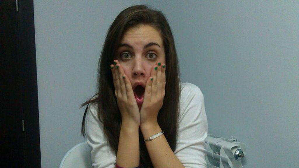 Cristina Ruiz Serrano alucinada con las locuras de sus amigas
