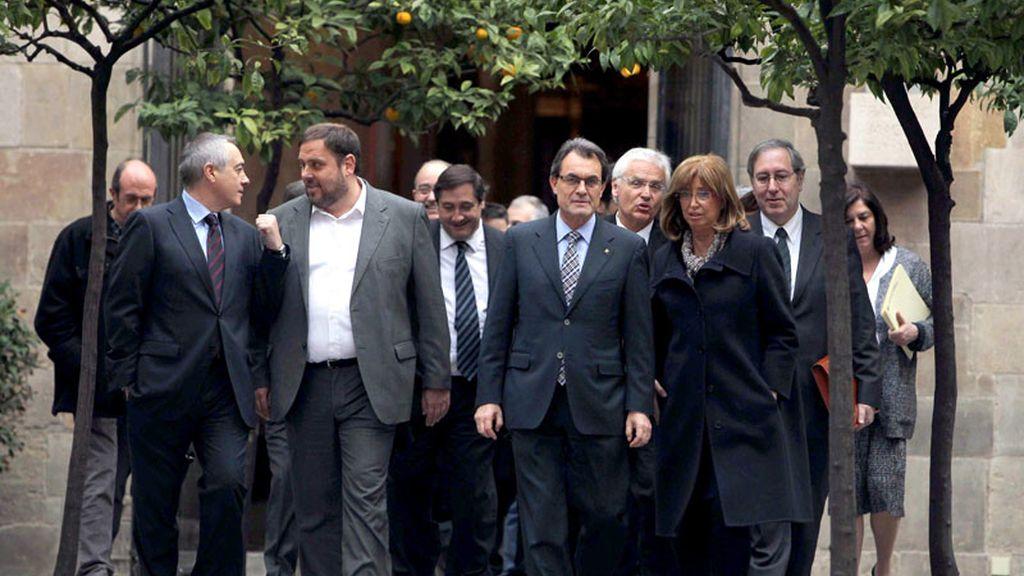 Cumbre del consejo escolar de Cataluña