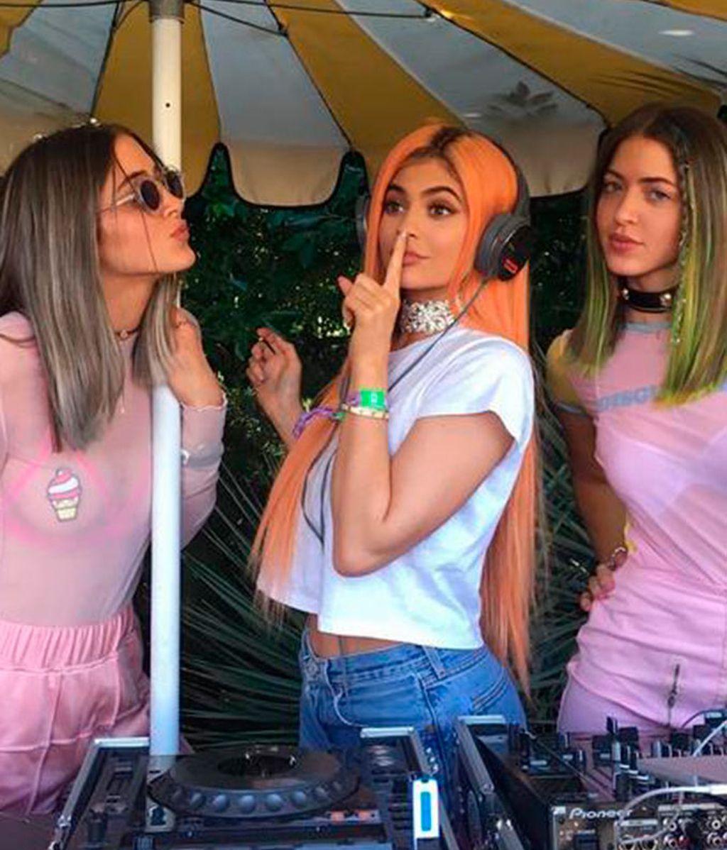 Kylie Jenner en su cuenta de Instagram