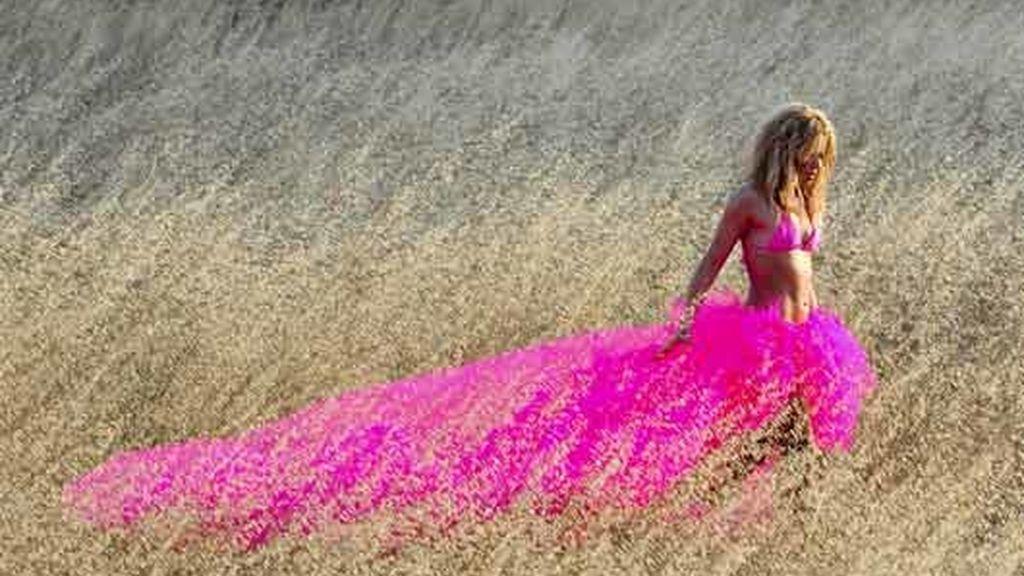 espectacular falda de tul
