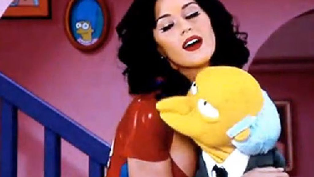 Katy Perry en Los Simpsons