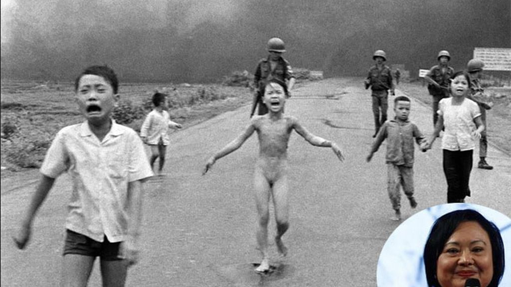 Vietnam, Kim Phuc, Guerra de Vietnam, niña quemada con napalm