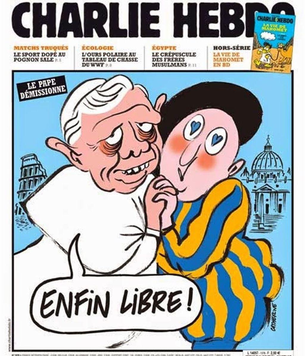 El Papa Benedicto XVI, objeto de burla