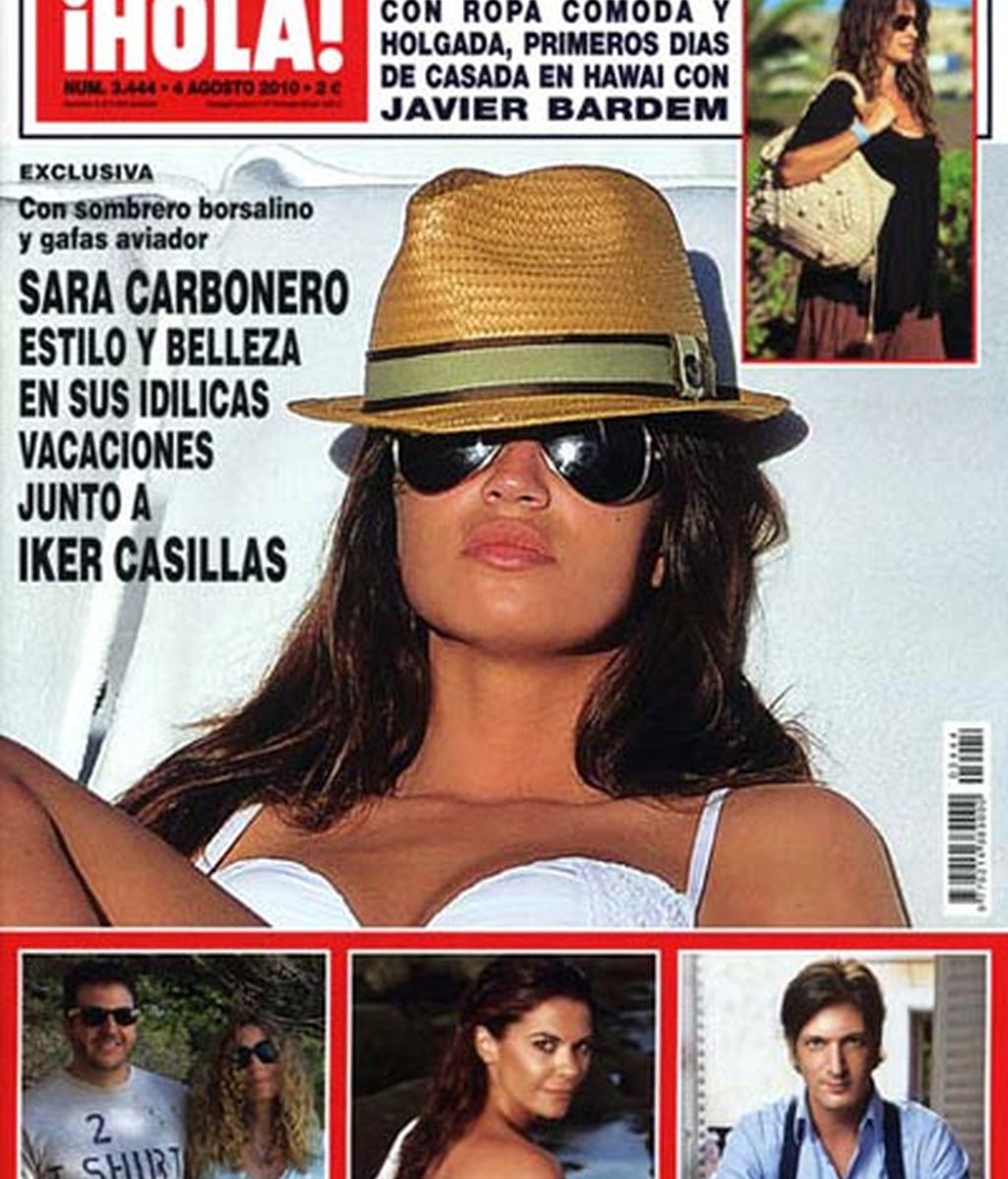 Sara Carbonero, espectacular en bikini