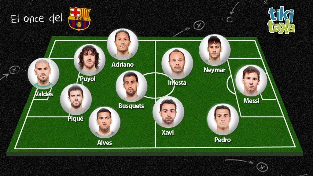 El 11 de la afición del Barça para el Clásico