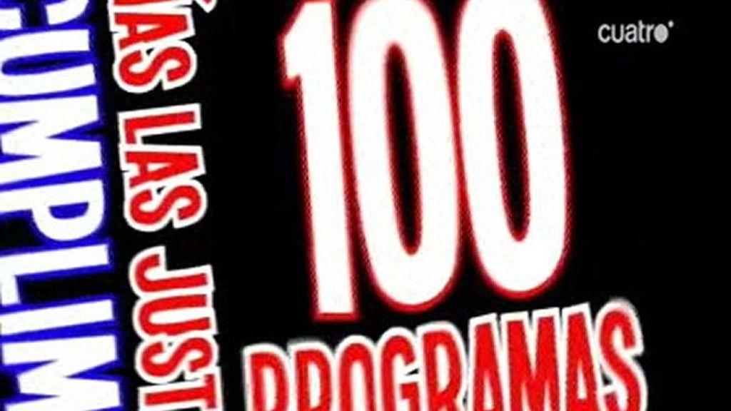 Tonterías las justas cumple 100 programas