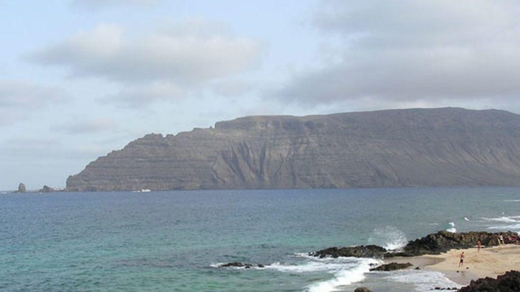 Playa en Isla de la Graciosa